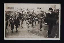 WW1 Postcard London Scottish Regiment Kilt Bagpipes Hill Vorley Rd London N19