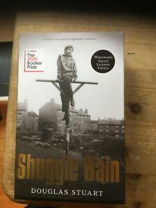 Douglas Stuart Shuggie Bain SIGNED Waterstones Exclusive Edition