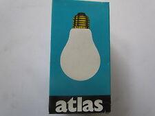 ATLAS Bombilla E27 100W Claro Cima PLATA Kuppenverspiegelt Espejo frontal