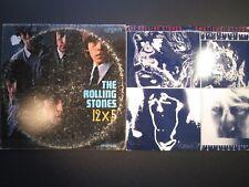 2 The Rolling Stones LP lot, 12x5 London mono 1st pressing, Emotional Rescue
