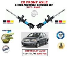 FOR CHEVROLET AVEO 1.2 1.4 LPG 2006->on 2X FRONT LEFT RIGHT SHOCK ABSORBERS SET
