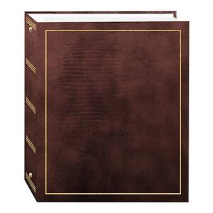 Pioneer LM-100 Magnetic 3-Ring Photo Album Brown (Same Shipping Any Qty)