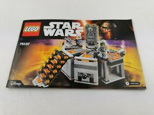 Lego®  Bauanleitung only building instructions 75137 Star Wars Carbon Freezing