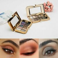 10 Colors Shimmer Glitter Eye Shadow Powder Palette Matte Eyeshadow Cosmetic Kit