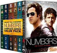 Numb3rs (DVD Box Set,31-Disc,118 Episodes)The Complete Series Season 1-6