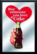 Coca Cola Flasche Mirror Spiegel Wandspiegel ,Bar,Partykeller,Kneipe,Neu