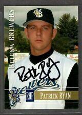 2005 #51 Patrick Ryan Helena Brewers Baseball Card Signed Autograph (D64)