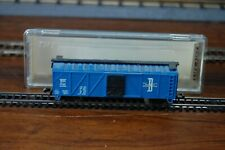 Life-Like N Scale Boston and Maine Wooden Box Car
