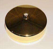 "Polished Brass Ceiling Rose 3.5"" Diameter Quality British General BG 661BR"