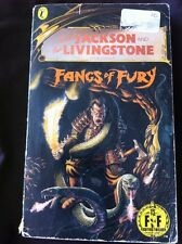 Fighting Fantasy - Fangs Of Fury - No.39 - Foil Cover - First Edition