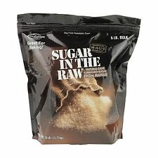 Sugar in the Raw 6 lbs bag (Pack of 2) Free Shipping