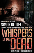 """VERY GOOD"" Whispers of the Dead: (David Hunter 3), Beckett, Simon, Book"