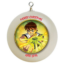 Personalized Ben 10 Christmas Ornament Add Name Here