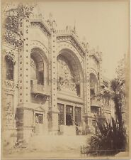 Pavillon d'Argentine Exposition universelle de Paris 1889 Vintage albumine