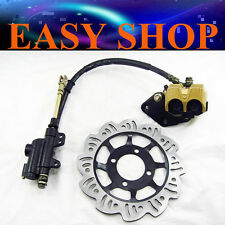 Rear Brake System Caliper + Brake Disc 125cc 150cc Dirt ATV QUAD BUGGY Pit Bike