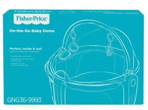 Fisher-Price On-the-Go Portable Baby Dome with 2 Removable Toys