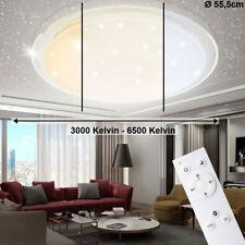 LED Decken Lampe Wohn Ess Zimmer Fernbedienung Sternen Himmel Tageslicht dimmbar