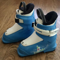 SALOMON JUNIOR YOUTH SKI BOOTS Blue White 15/16 FAST SHIPPING!