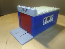 LEGO VINTAGE brick 1x8 with GARAGE pattern ref 3008pb064 Set 355 348 990 ...