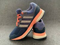 Adidas Boost techfit women's shoes size 3.5 pink blue flats trainers EU 36 boots