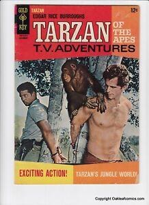Tarzan 162 Gold Key Comics 1966 Mid Grade Bondage Cover