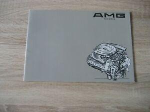 AMG Mercedes W 123 124 126 127 300 500 560 SL TE CE SE SEL SEC Prospekt Brochure