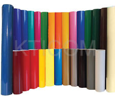 5 Rolls 12 Gloss Colors Adhesive Backed Vinyl Sign Amp Craft Cutter Silhouette