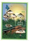 MODERN GEMS - Maldives - Lepiota Procera Mushroom - Souvenir Sheet - MNH