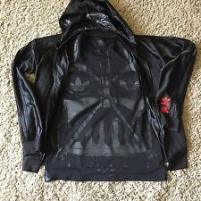 Adidas Originals Star Wars Darth Vader Track Top & T Shirt Matching Set DARKSIDE
