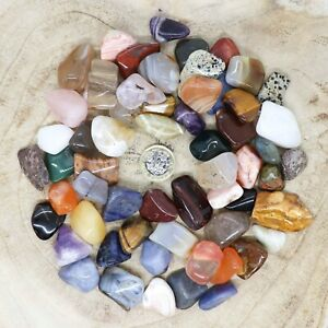 50 x Assorted Crystal Tumblestone Sets Collections 510g-582g Reiki seconds