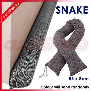 Door Snake Sausage Draught Wind Draft Stopper Excluder Premium