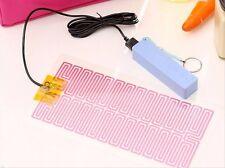 5V Single USB Heating Film Heater Winter Warm Plate Mouse Pad Keep Warm