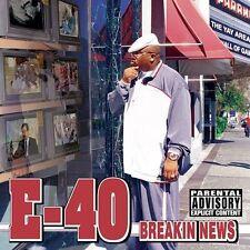 "E-40 ""Breakin News"" [PA] CD Sep-2003 Jive Unplayed Promo NM"