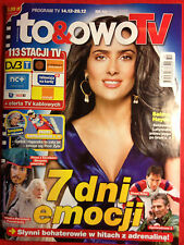 SALMA HAYEK ANTHONY HOPKINS JOHNY DEPP - TO&OWO TV Polish MAGAZINE magazin mag