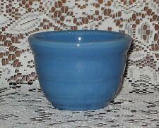 Bauer Gloss Pastel Kitchenware Custard Cup circa 1940's Dark Blue
