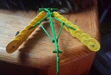 1/64 custom John deere 16 wheel v rake ertl farm toy hay straw free shipping!