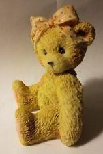 """Teddy Bear Figurine - Karen Best Buddy P. Hillman appx 3"""" T x 2"""" W x 2"""" L #'d"""