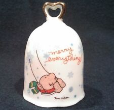 Ziggy Tom Wilson 1979 Merry Christmas Bell Made in Japan