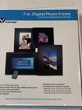 7In Digital Picture Frame Best Electronic Photo Collage Friends Color LCD Screen