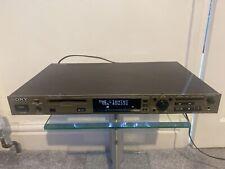Sony mds-e12broadcast spec mini disc player recorder