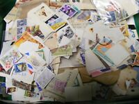 Bulk Lot, 425 grams World Stamps as in photos(MX5).