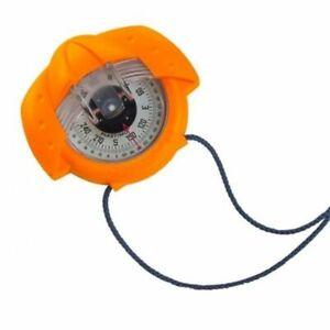 Plastimo Iris 50 Hand Held Marine Compass - Orange. Use for Boating, Walking etc