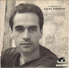 """GIANI ESPOSITO """"LES CLOWNS"""" 50'S EP POLYDOR 20902"""