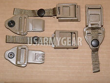 """Quick Release QR Buckle Set Replacement 1"""" Shoulder Strap Connector ILBE Coyote"""