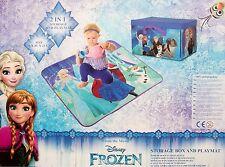 Aufbewahrungsbox + Spielmatte 2in1 Spielzeugkiste Spielzeugbox Disney FROZEN NEU
