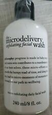 PHILOSOPHY The Microdelivery Exfoliating Facial Wash 8oz/240ml NEW  msrp $29