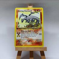 Shining Charizard / Glurak Proxi Pokemon Card in Holo EN