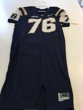 27be978a22f Game Worn Used Nike BYU Brigham Young Cougars Football Jersey  76 Size 46
