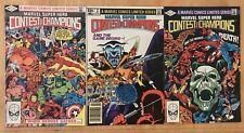 Marvel Super Hero Contest of Champions #1-3