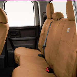 Ford VBL3Z1863812E Carhartt Seat Covers - Brown, 60-40 SuperCab Rear